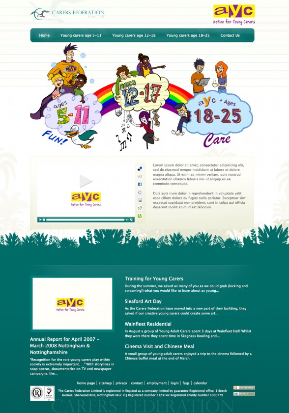 Web Illustration   Young Carers