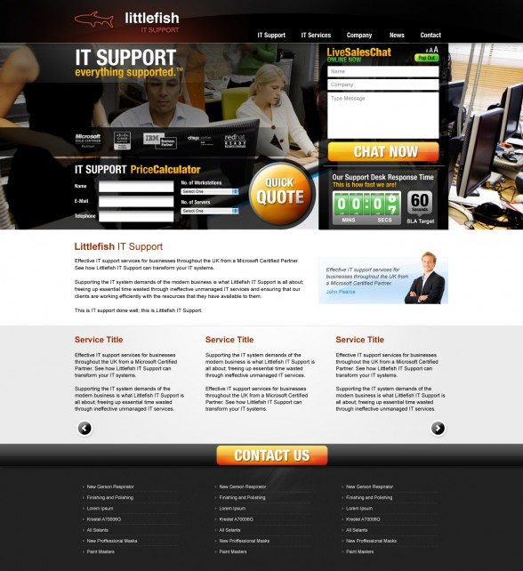 Littlefish IT Support | New Web Design
