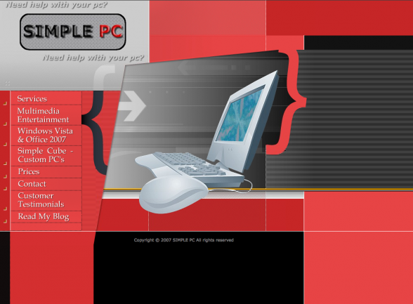 Old Web Design | Simple PC