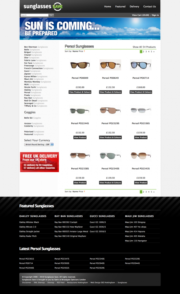 Persol Sunglasses | Sunglasses Save