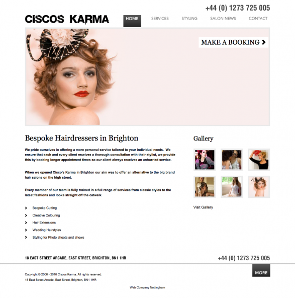 Ciscos Karma | Hairdresser Brighton