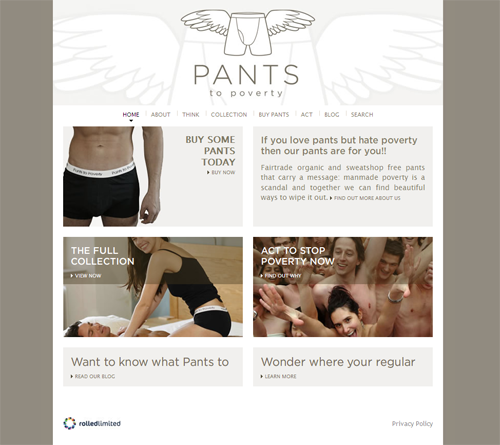 Pants to Poverty New Site