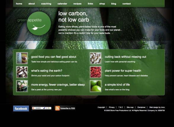Web Design | Green Apetite