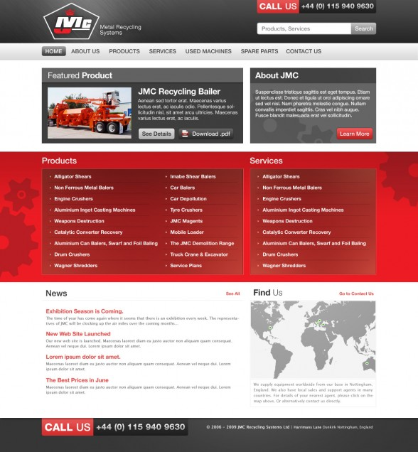 Web Design | JMC Recycling