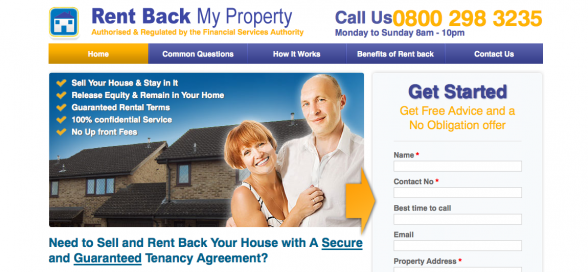 Rent Back My Property