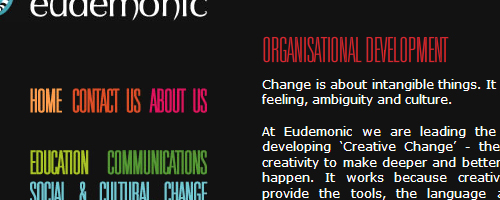Eudemonic's New Website