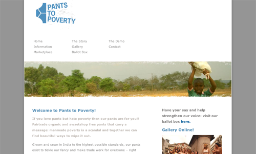 Pants to Poverty Old Site